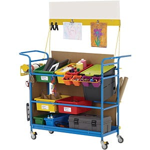 Makerspace Carts & Trays