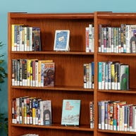 Demco® Liberation™ Wood Library Shelving Backs