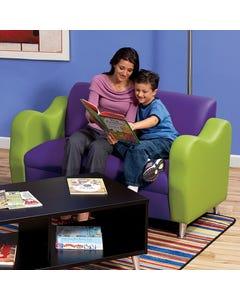 HPFI® Reception Furniture Loveseat