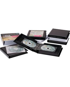 Demco® Heavy-duty CD 2-ring  Binder Albums with Lined Pages