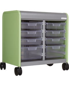 8 Drawer Shown with Open Front