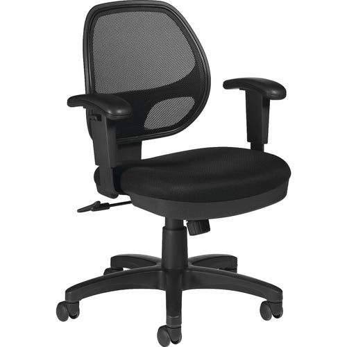 Mid-back Chair with Arms