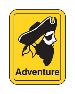 Highsmith® Classification Genre Labels - Adventure