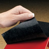Rubber Base for Highsmith® Jumbo Polyester-Coated Steel Book Supports