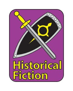 Highsmith® Colorful Classification Labels - Historical Fiction