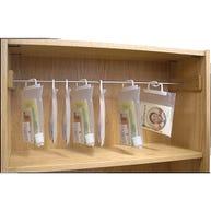 Hanging Bag Bar for Media Technologies Benchmark™ Shelving