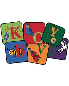 Carpets for Kids® Collection - Reading by the Book Carpet Squares