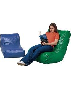 Bean Bag High-Back Chair