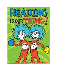 Demco® Upstart® Dr. Seuss™ Reading Is Our Thing Poster