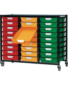 27-Tray, Solid Color Trays