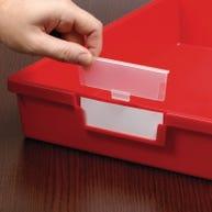 Labels & Protectors for Certwood StorSystem Classroom Storage Trays