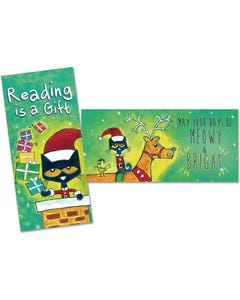 Demco® Upstart® Pete the Cat® Winter/Holiday Bookmarks