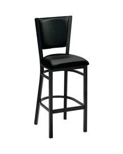 "Premier Upholstered Café Stool 30""H Seat Fabric"
