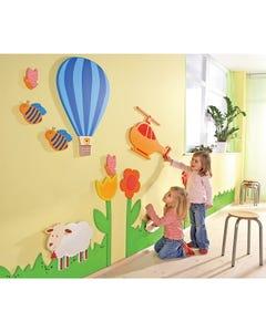 HABA® Hot Air Balloon Scene Wall Designs