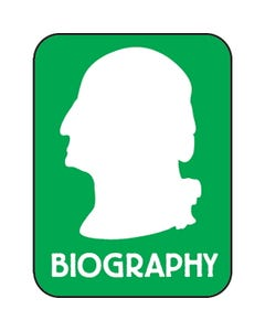 Demco® Modern Genre Subject Classification Labels - Biography (Man)
