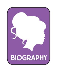 Demco® Modern Genre Subject Classification Labels - Biography (Woman)
