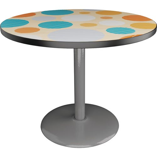 Round Table shown with Luminaria Maple
