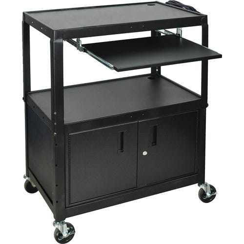 Cart with Keyboard Shelf