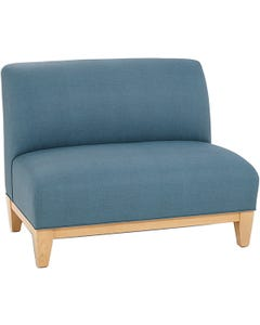Armless Upholstered Seating - Loveseat