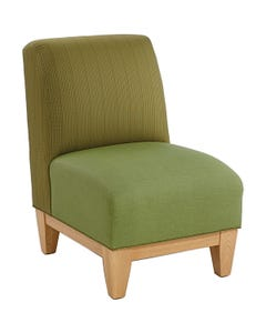 Armless Upholstered Seating - Chair
