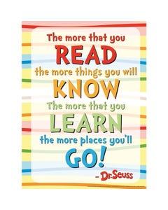 Demco® Upstart® Dr. Seuss™ Poem Poster
