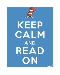 Demco® Upstart® Dr. Seuss™ Keep Calm and Read On Poster