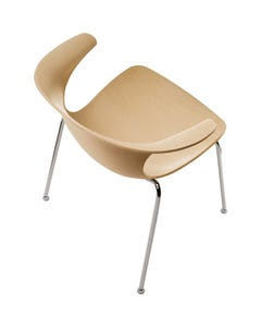 All Wood Chair with Arms