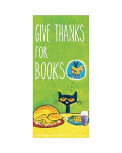 Demco® Upstart® Pete the Cat® Thanksgiving Edition Bookmark