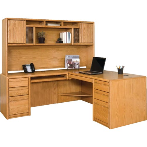 Deluxe Hutch, desk sold seperately.