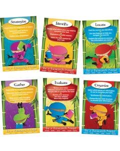 Demco® Upstart® Ninja Library Poster Set