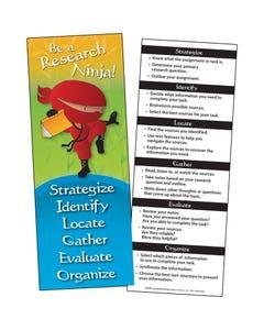 Demco® Upstart® Ninja Library Jumbo Bookmarks