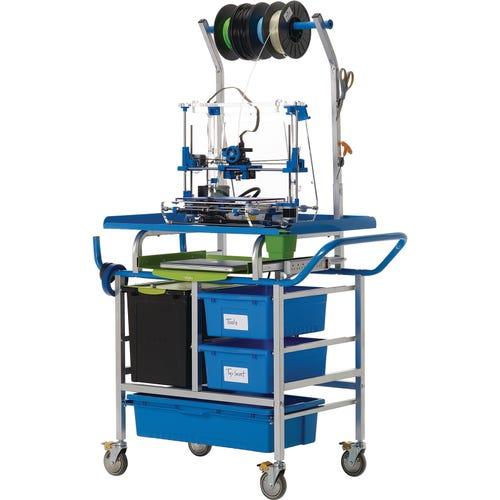 Premium 3D Printer Cart - front view
