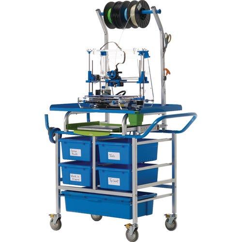 Base 3D Printer Cart - front view