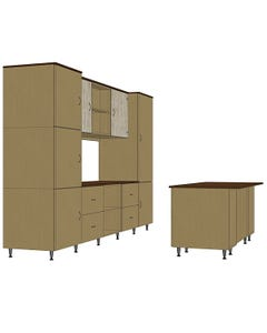 Hale Cubed Modular Storage - Configuration 1
