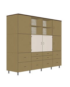 Hale Cubed Modular Storage - Configuration 4