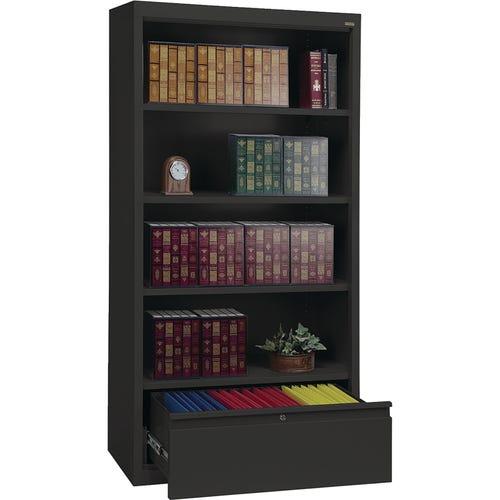 4 Shelves, 1 Adjustable