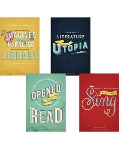 Demco® Upstart® Literary Quotes Poster Set