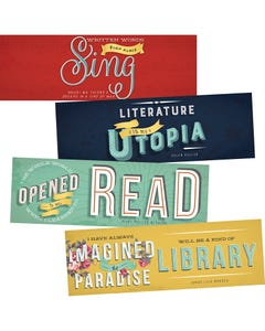 Demco® Upstart® Literary Quotes Bookmarks
