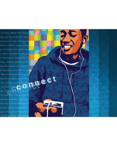 Digital Teen Series Connect Canvas Prints