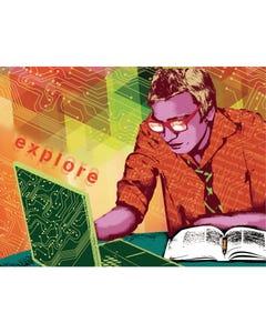 Digital Teen Series Explore Canvas Prints