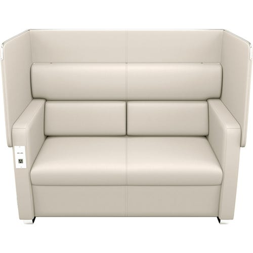 Sofa With Privacy Panel Up