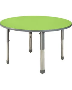 Allied™ Imagination Station Colorful Dry-erase Tables - Round