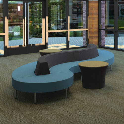 Hive S Configuration Shown With Upholstered Tables (Sold Separately)