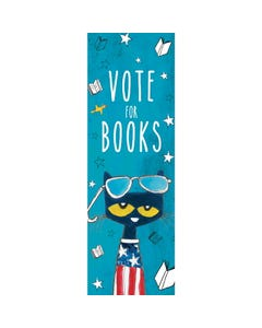 Demco® Upstart® Pete the Cat® Vote for Books Bookmarks