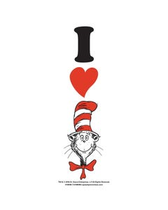 Demco® Upstart® I Heart The Cat in the Hat Bookmarks