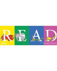 Demco® Upstart® Dr. Seuss™ Color Block READ Bookmarks