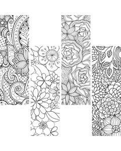 Demco® Upstart® Color Craze Floral Bookmarks