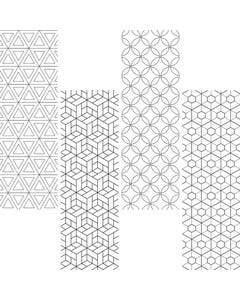 Demco® Upstart® Color Craze Geometric Bookmarks