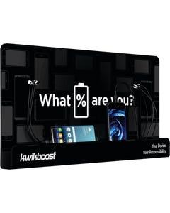 KwikBoost® Basic Wall-Mounted Mobile Device Charging Station