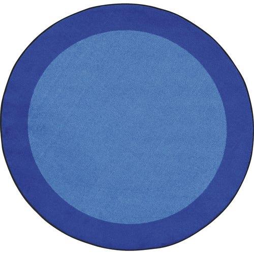 Round Shown in Blue